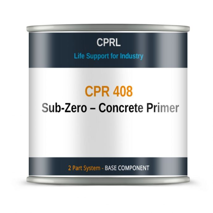 CPR 408 – MMA Damp Tolerant Concrete Primer - Base