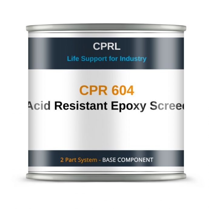 CPR 604 – Acid Resistant Epoxy Screed - Base