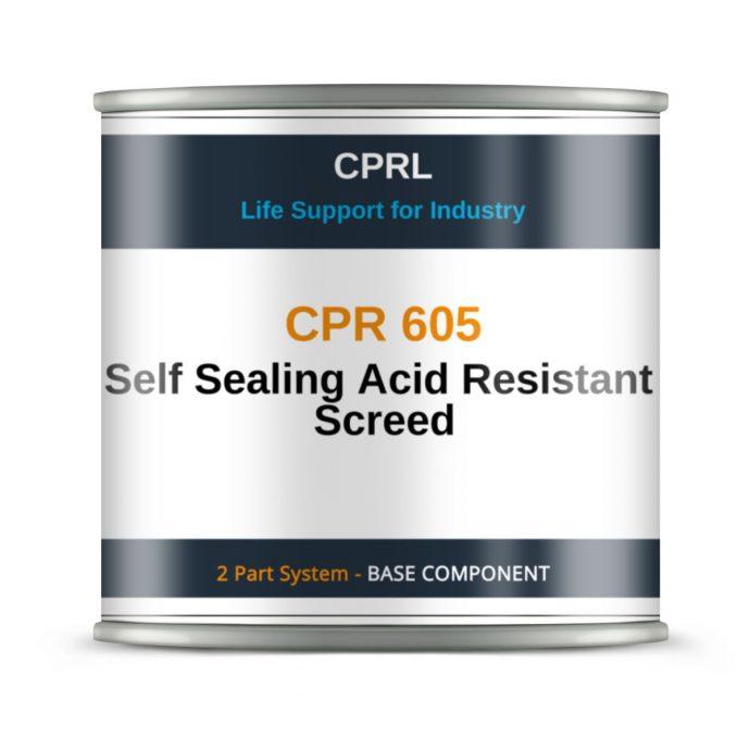 CPR 605 – Self Sealing Acid Resistant Screed - Base