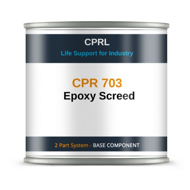 CPR 703 – Epoxy Screed - Base