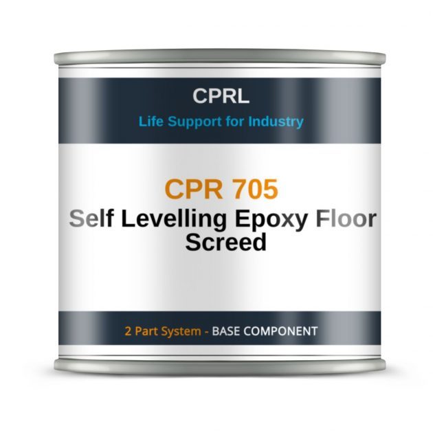 CPR 705 – Self Levelling Epoxy Floor Screed - Base