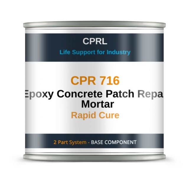 CPR 716 – Epoxy Concrete Patch Repair Mortar- Rapid Cure - Base