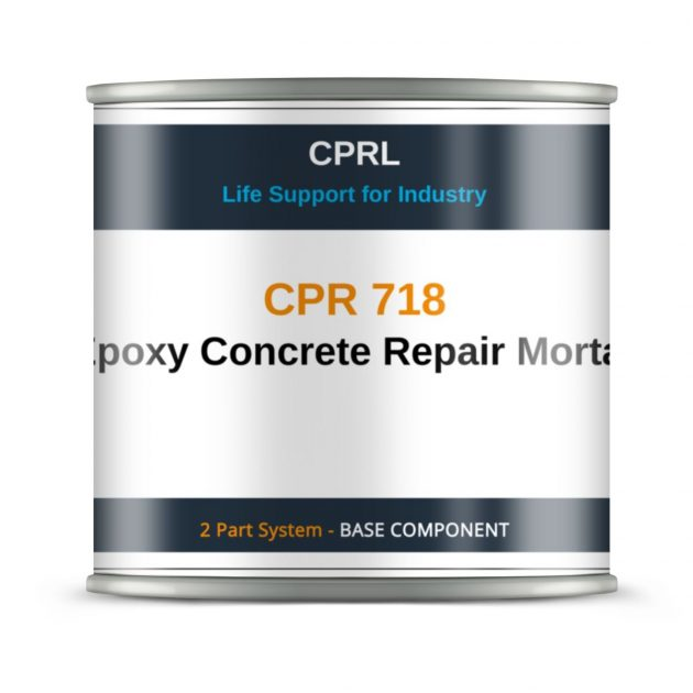 CPR 718 – Epoxy Concrete Repair Mortar - Base
