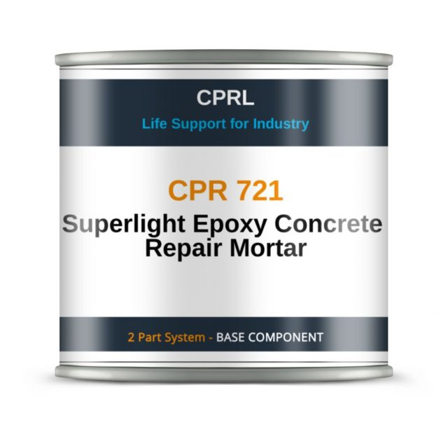 CPR 721 - Superlight Epoxy Concrete Repair Mortar - Base
