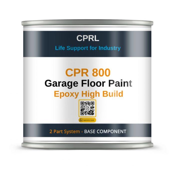 CPR 800 Garage Floor Paint Epoxy High Build - Base component (1)