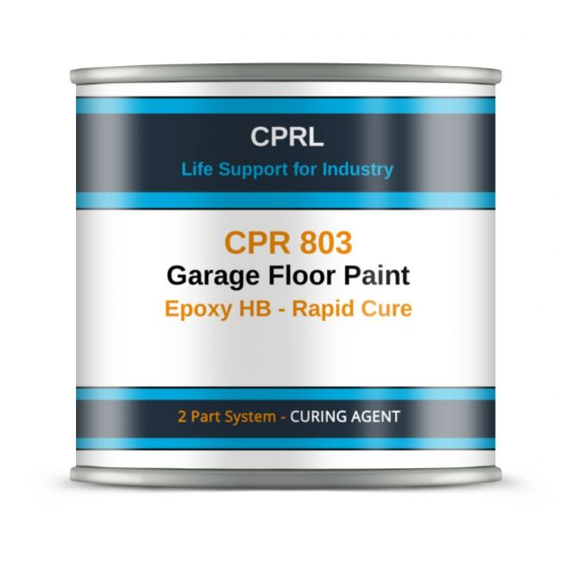 CPR 803 - Garage Floor Paint - Epoxy HB - Rapid Cure - Curing Agent