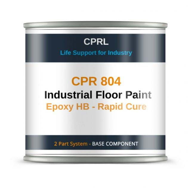 CPR 804 - Industrial Floor Paint - Epoxy HB - Rapid Cure - Base