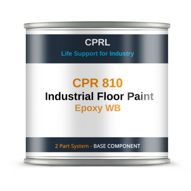 CPR 810 – Industrial Floor Paint – Epoxy WB - Base