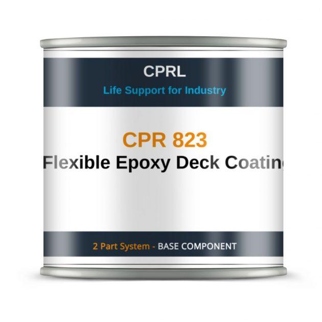 CPR 823 – Flexible Epoxy Deck Coating - Base