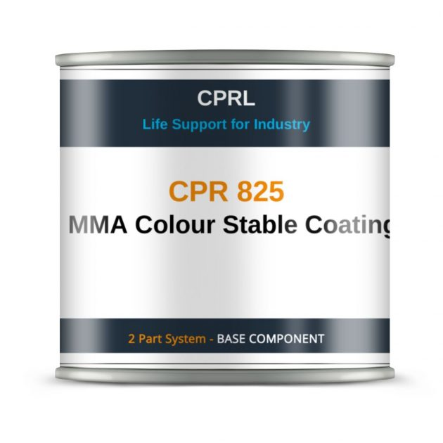 CPR 825 – MMA Colour Stable Coating