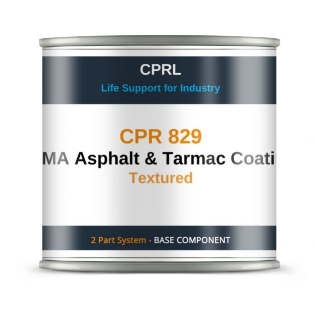 CPR 829 – MMA Asphalt & Tarmac Coating – Textured - Based