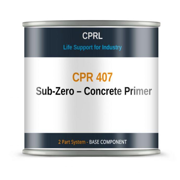 CPR 407 – Sub-Zero – Concrete Primer - Base