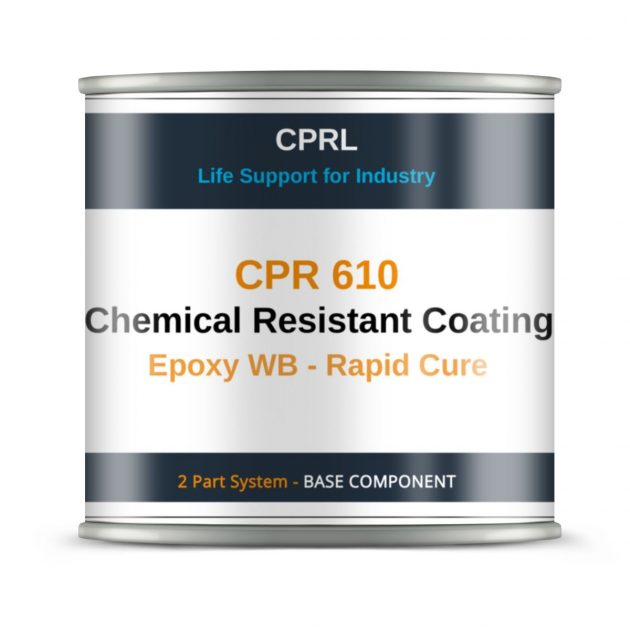 CPR 610 - Chemical Resistant Coating - Epoxy WB - Rapid Cure - Base