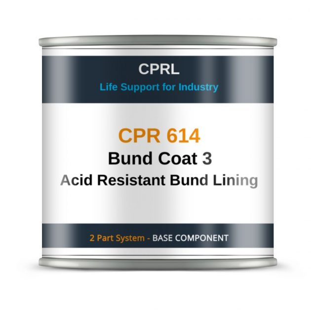 CPR 614 Bund Coat 3 Acid Resistant Bund Lining - Base