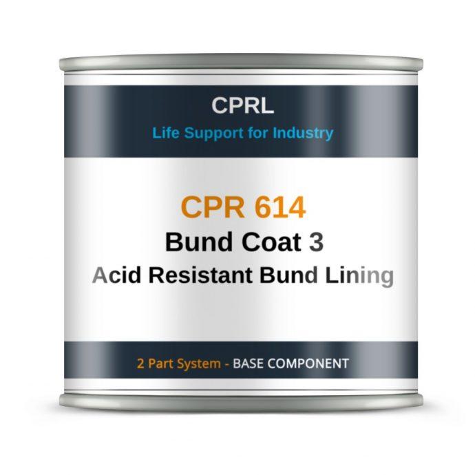 CPR 614 Bund Coat 3 Acid Resistant Bund Lining - Base
