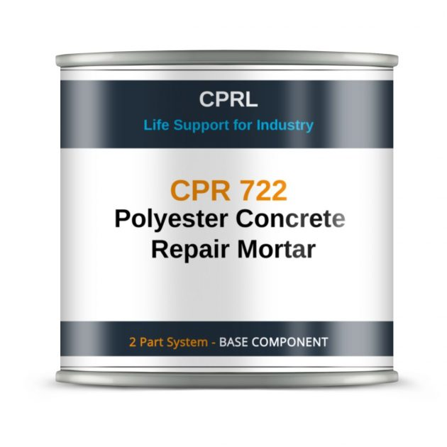 CPR 722 - Polyester Concrete Repair Mortar - Base