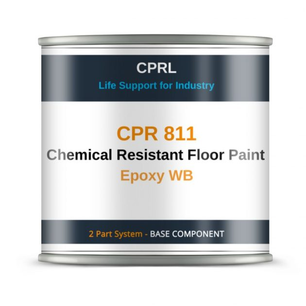 CPR 811 – Chemical Resistant Floor Paint – Epoxy WB