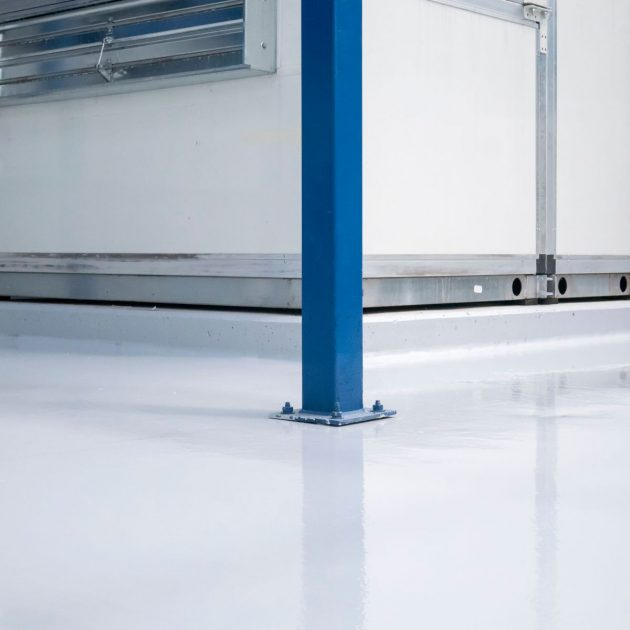 CPR 813 - Industrial Floor Paint - Epoxy WB - Rapid Cure