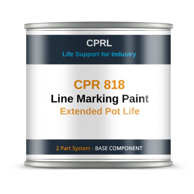 CPR 818 - Line Marking Paint - Extended Pot Life - Base