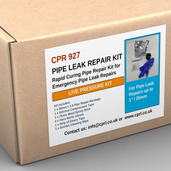Pipe Leak Repair Kit (Live Leaks)
